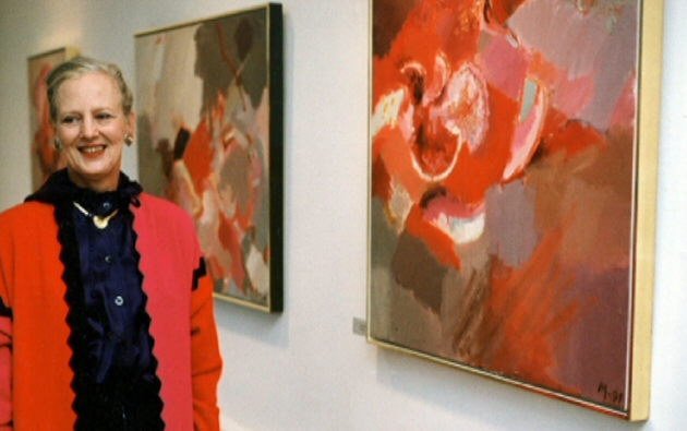 Queen margrethe s paintings